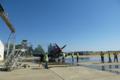 lavage avion avant meeting